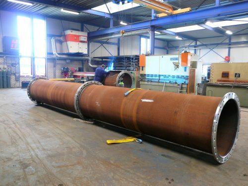 fabricage leidingwerk DN1000